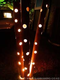 funky outdoor lighting. Outdoor Lighting Bambusero Lights Are Very Easy To Install. The Bamboo Spike At Base Of Each Light Is Pushed Into Soil And Waterproof Funky I
