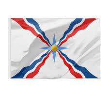 Флаг 150×100 см Ассирийский флаг #2536289 от <b>Gold</b> ...