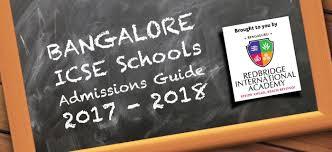 Bangalore Icse, Igcse And Ib Schools Admission Guide