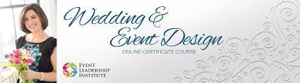 Institute Of Wedding And Event Design Wedding Event Design Certificate Online Course Eli