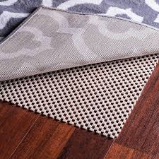 amazon epica extra thick non slip area rug pad 4 x 6 for any hard surface floor keeps your rugs safe and in place kitchen dining