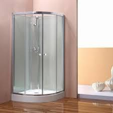 curved sliding door shower room size 900 1000x900 1000x1850mm aluminum frame images