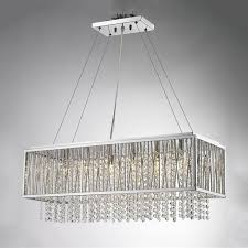 most interesting rectangular chandelier canada 4