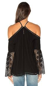 Shop For Ramy Brook Peyton Top In Black At Revolve Free 2 3