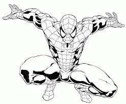 Small Picture Coloring Page Spiderman coloring pages 91 Coloring Sheets