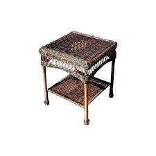 wicker side table outdoor wicker side table wicker table outdoor wicker side table wicker table mats wicker side table outdoor