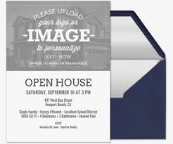 Invitation To Open House Free Open House Online Invitations Evite