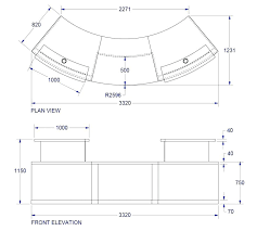 standard desk size desk inspirations appealing full size of home reception desk dimensions standards classic custom standard desk