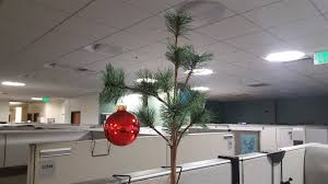 Our Office Christmas Tree Aww