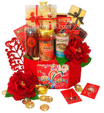 Small Picture Chinese New Year Hamper Prosperous Treats 4 Toko Bunga Online