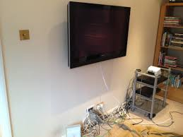 ... Wall to TV Coaxial Cable -  Picture