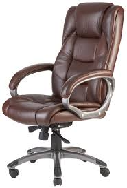 brown leather office chair. Exellent Leather On Brown Leather Office Chair H
