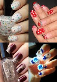 Latest Nail Art Designs and Colors for Eid 2017