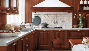Tiny L Shaped Kitchen Natural Wood Tiny Kitchen Great Home Design