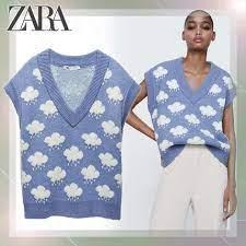 Zara ニット ベスト