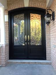 fiberglass entry arched doors