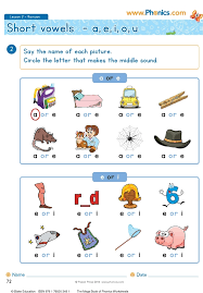 You may print the worksheets from either pdf or jpeg versions and provide them to your children or students. Phonics Worksheets Lesson 2 Short Vowel Revision