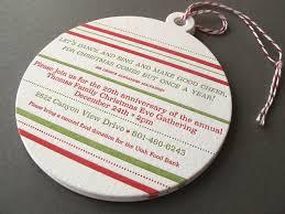 Christmas Ornament Invitation Thomas Printers