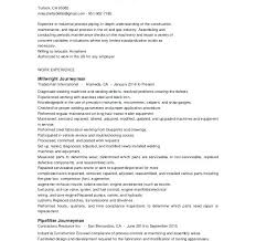 tradesman resumes millwright resume sample millwright resume tradesman resume sample