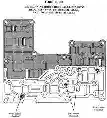 similiar 4r100 transmission solenoid diagram keywords transmission diagrams solenoid as well valve body main case checkball