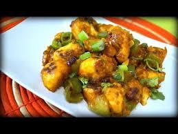 healthy gobi manchurian in tamil no deep fry cauliflower manchurian