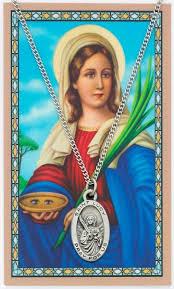 saint lucy gold pendant pendant