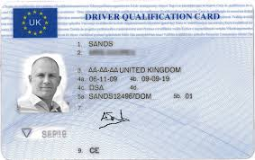 Training Obtaining - Qualification Cpc Card Driver Traindrive Your