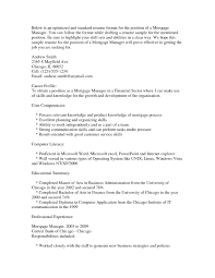 Mortgage Broker Cover Letter Examples For Real Estate Trainee