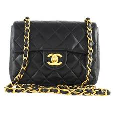 chanel bags classic small. chanel black classic quilted mini 2.55 flap bag | malleries bags small