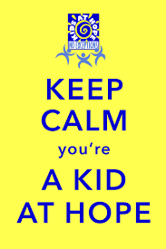 How To Make A Keep Calm Poster Keep Calm Youre A Kid At Hope Poster