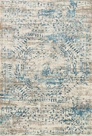 loloi rugs kingston kt 05 ivory blue area rug