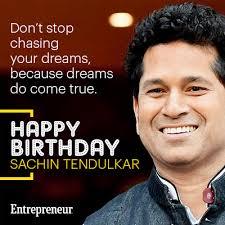 Sachin Tendulkar birthday wishes images