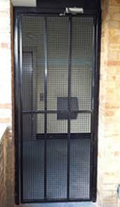 commercial security doors. Perfect Security Commercial Steel U0026 Mesh Gate Residential High Security Gate To Security Doors I