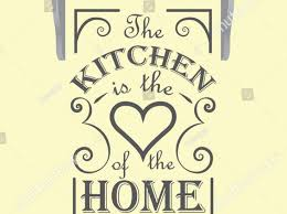 kitchen wall art vinyl words quote