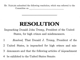 Read the full text of Democrats' articles of impeachment of Trump - Vox
