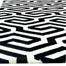 excellent black white indoor outdoor rug new adorable and target striped outd