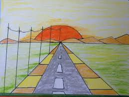 Small Picture sunset drawing for kids in simple steps YouTube