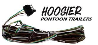 hoosier pontoon trailer wire x wiring harness kit wh hoosier pontoon trailer 4 wire x 33 wiring harness kit wh1833