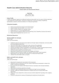 medical administration resume examples resume examples healthcare administration hospital