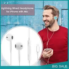 Giá bán Tai Nghe Nhét Tai Có Dây 8 Pin Chất Lượng Cao Cho Apple