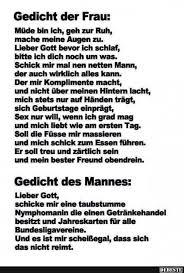 Gedicht Der Frau Des Mannes Lustige Bilder Sprüche Witze Echt