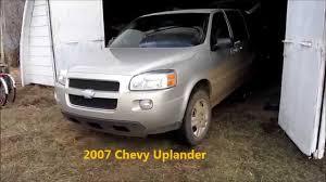 brief 2007 chevy uplander info abs issue