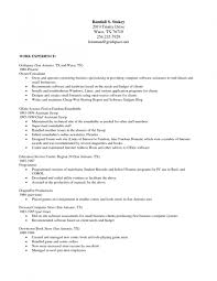Resume Template Of A Best Format In Templates Open Office 81