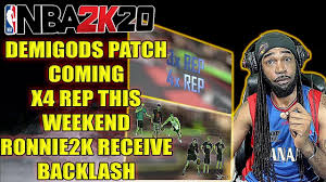 NBA 2K20 NEWS - DEMIGOD PATCH COMING ...