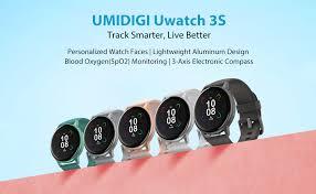 UMIDIGI Smart Watch Uwatch 3S Fitness Tracker with ... - Amazon.com