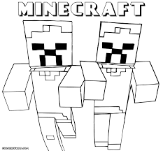 Minecraft Colorages Coloring Weird Mine Craft To Download Andrint