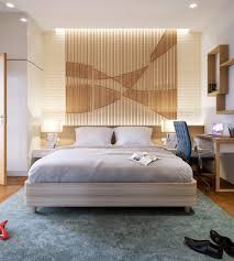Of Bedroom 25 Beautiful Examples Of Bedroom Accent Walls That Use Slats To
