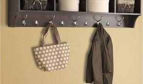 Coat Racks Australia Beauteous Wall Mounted Coat Rack With Hooks Australia Admirable Metal Coat