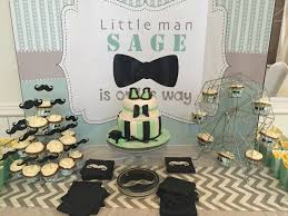 Creative Baby Boy Shower Ideas  Crafty MorningBow Tie And Mustache Baby Shower