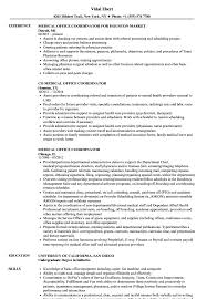 Office Coordinator Resume Sample Medical Office Coordinator Resume Samples Velvet Jobs 5